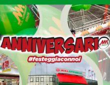 18 e 19 ottobre  – Anniversario Ma Supermercati!